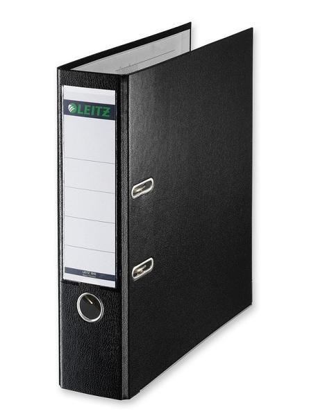 Папка-регистратор Leitz А4 50мм пластик красный 10151225P
