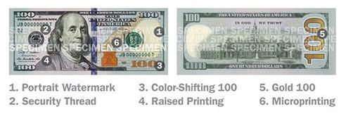ФРС США объявило о выпуске новой банкноты номиналом 100$